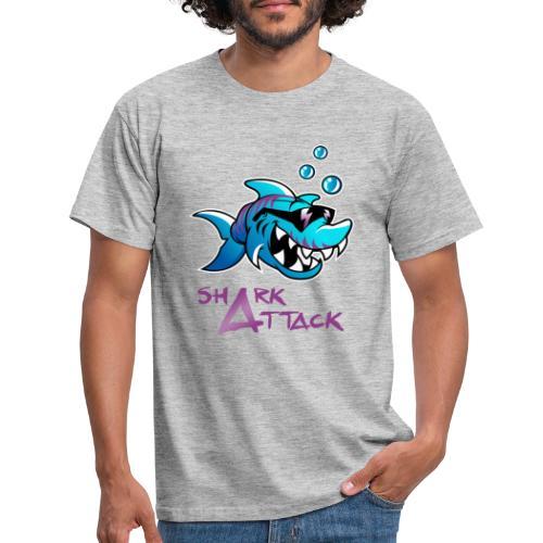 Shark Attack - Männer T-Shirt