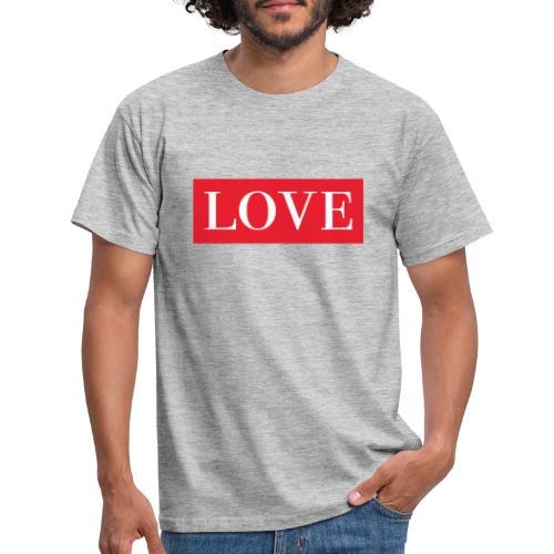 Red LOVE - Men's T-Shirt