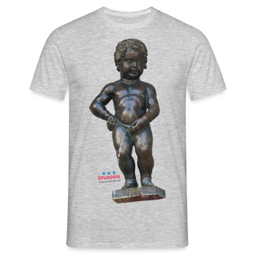BiG REAL mannekenpis ♀♂ | 小便小僧 - T-shirt Homme