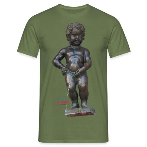 BiG REAL mannekenpis ♀♂ | 小便小僧 - T-shirt Homme