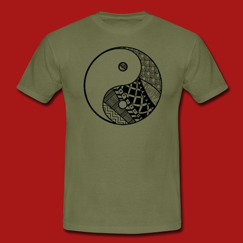 Decorative-Yin-Yang - Herre-T-shirt