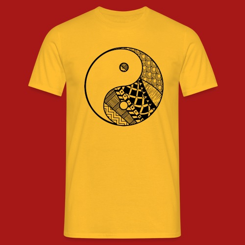 Decorative-Yin-Yang - Herre-T-shirt