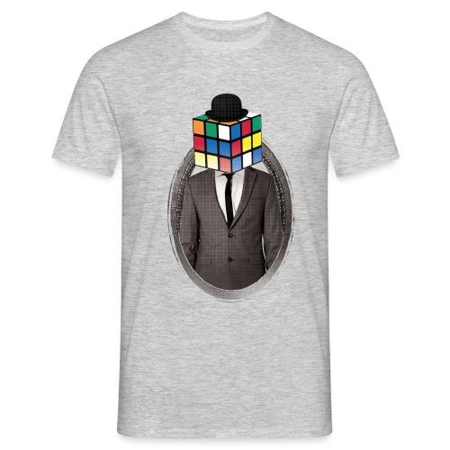 Rubik's Cube Portrait - Men's T-Shirt
