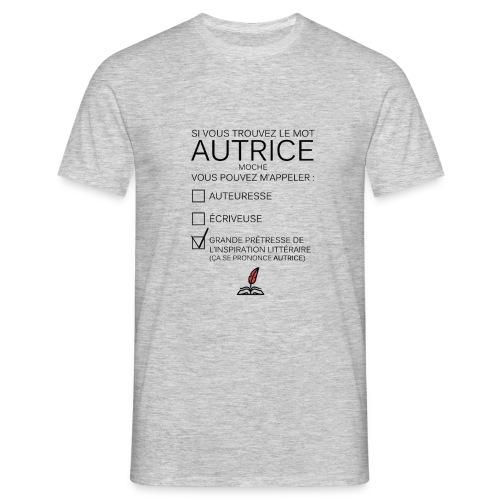 Autrice - T-shirt Homme