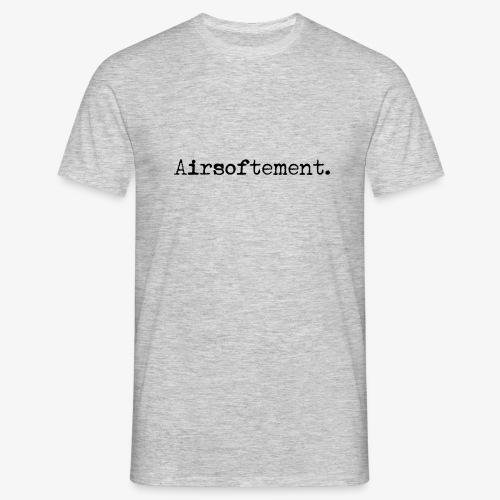 Airsoftement. (Noir) - T-shirt Homme