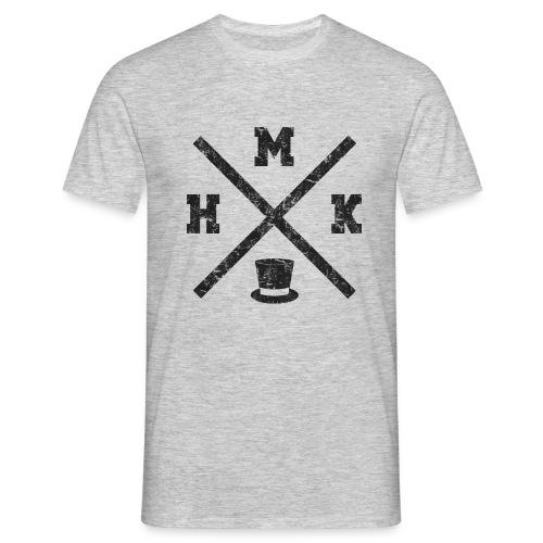 hmk musta - Miesten t-paita