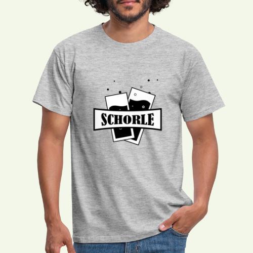 Schorle Stangengläser - Männer T-Shirt