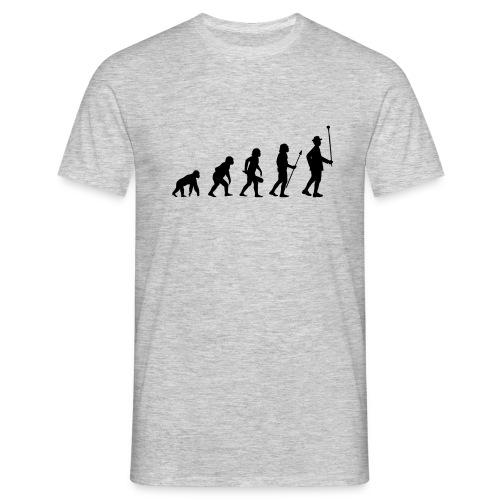 Stabführer Evolution - Männer T-Shirt