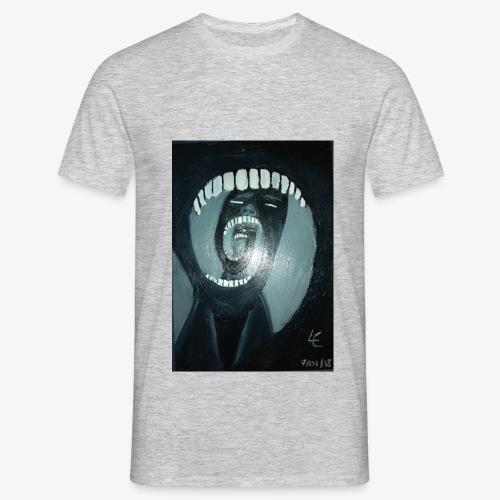 Sombre peinture - T-shirt Homme
