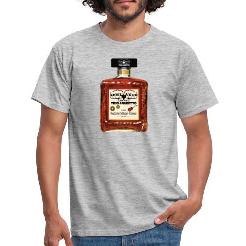 Trio Amaretto Flasche - Männer T-Shirt