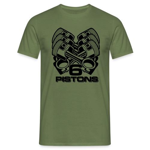 MTKPR012 Six pistons - Camiseta hombre