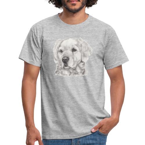 golden retriever - Herre-T-shirt