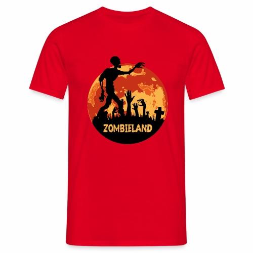 Zombieland Halloween Design - Männer T-Shirt