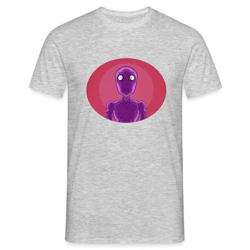 Shocked Alien Design! - Men's T-Shirt