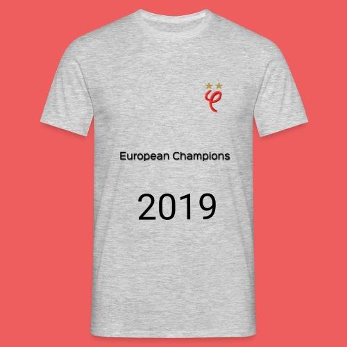 Phi european champions 2019 - T-shirt Homme