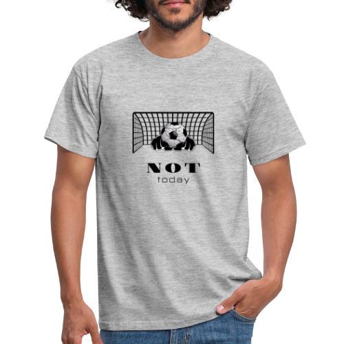 not today /black - Männer T-Shirt