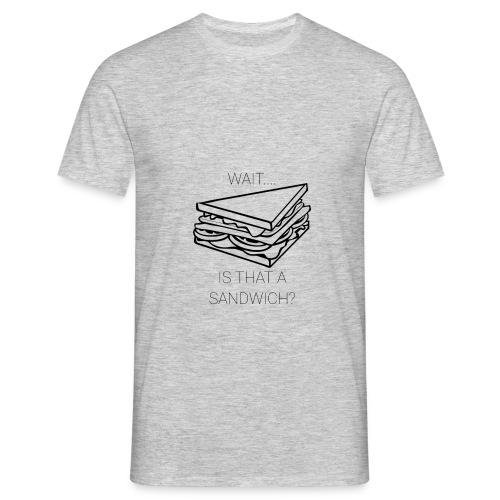 Sandwich - Mannen T-shirt