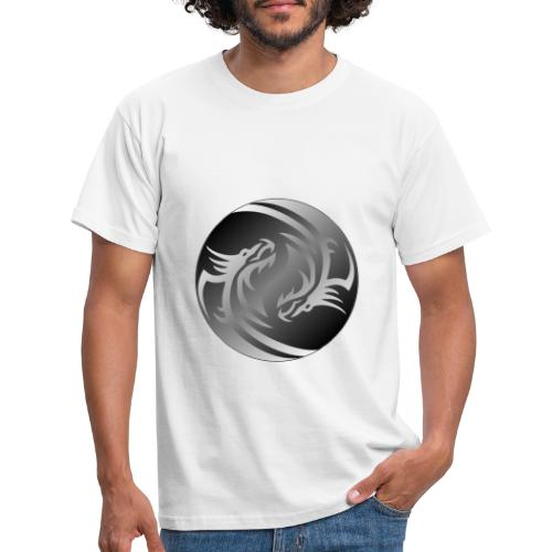 Yin Yang Dragon - Men's T-Shirt