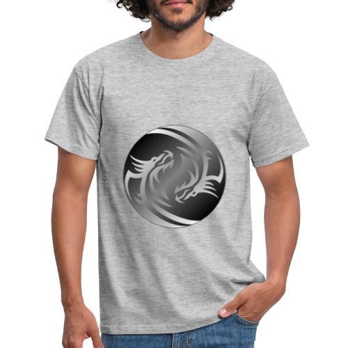 Yin Yang Dragon - Men's T-Shirt