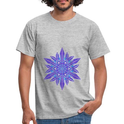 Schneeflocke II - Männer T-Shirt