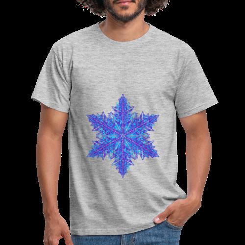 Schneeflocke III - Männer T-Shirt
