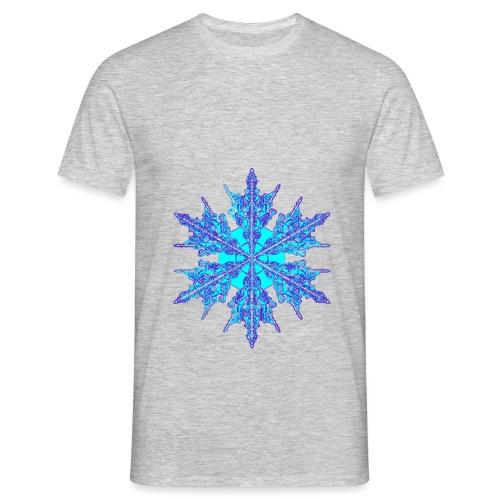 Schneeflocke IV - Männer T-Shirt