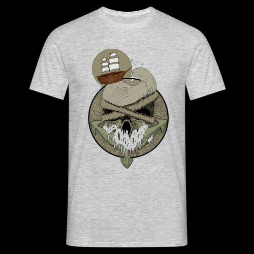 Ancre skull - T-shirt Homme