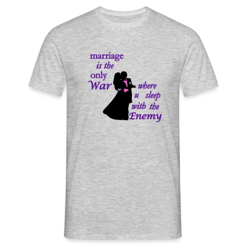 marriage_funny tshirts - Men's T-Shirt