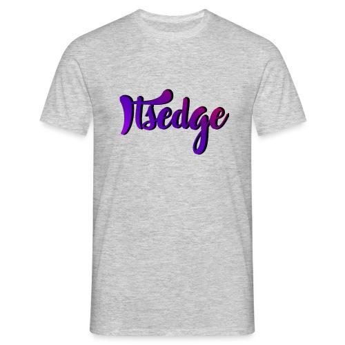 ItsEdge Signature Purple - Men's T-Shirt
