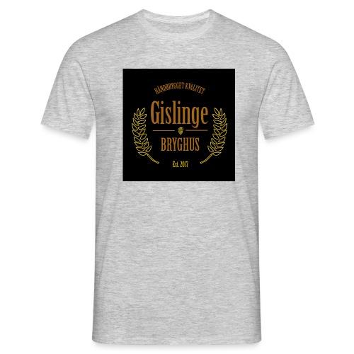 Sort logo 2017 - Herre-T-shirt