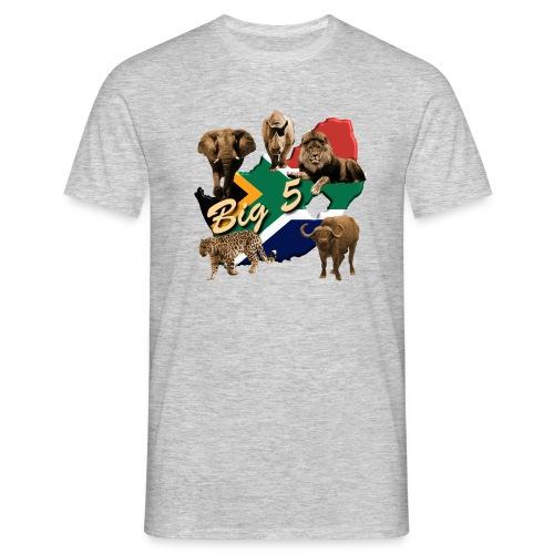 Big 5 - Südafrika Safari - Männer T-Shirt