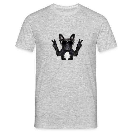 Cooler Hund - Männer T-Shirt