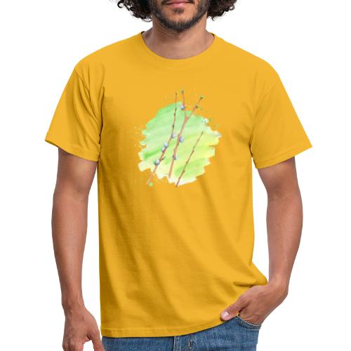 Weidenkätzchen - Männer T-Shirt