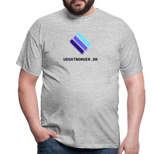 logo udsat transparent - Herre-T-shirt