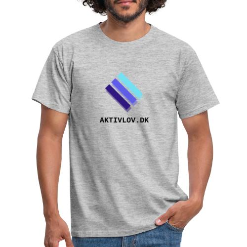 logo Aktiv transparent - Herre-T-shirt