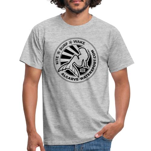 AWS mermaid round beams - Men's T-Shirt