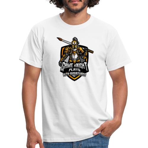 Game kNight Plays with Miniatures - Men's T-Shirt