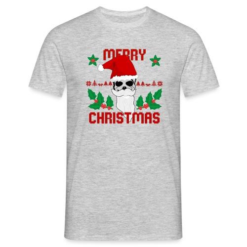 Merry Christmas Skull - Männer T-Shirt