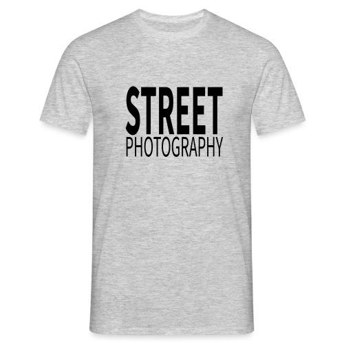 Street photography Black - Maglietta da uomo
