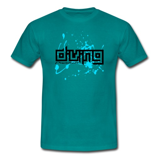 DIVING PASSION Diver textiles, gifts, products - Miesten t-paita