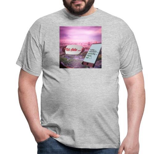 Tal Aviv is calling - traumhafter Sehnsuchtsort - Männer T-Shirt