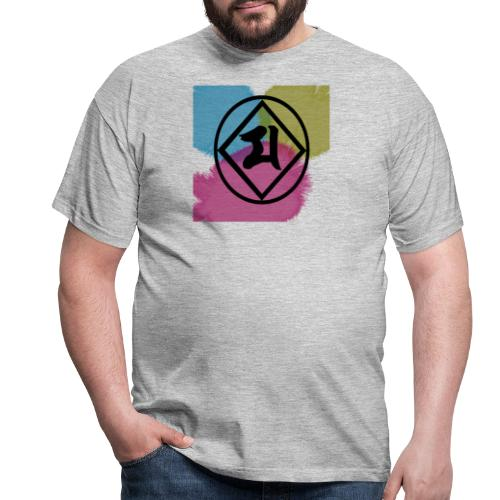 Logo Japones color - Camiseta hombre