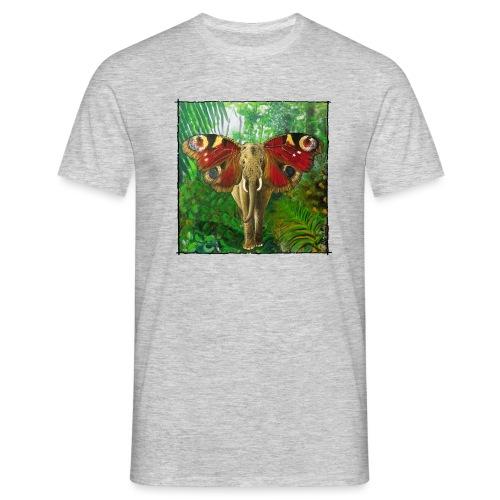 Schmettefant im Dschungel - Männer T-Shirt