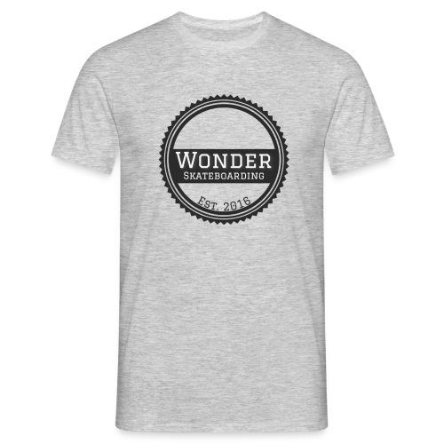 Wonder Longsleeve - round logo - Herre-T-shirt