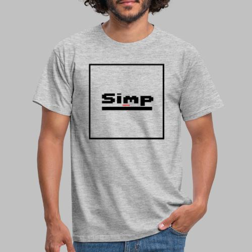 Standard Simp Logo Design - Mannen T-shirt