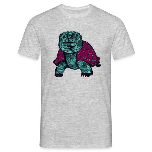 Galapagos Skilpadde - T-skjorte for menn