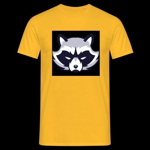 WaschbeerKopf Logo :) - Männer T-Shirt