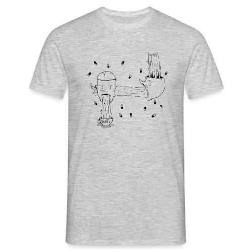 heads opinion - Men's T-Shirt