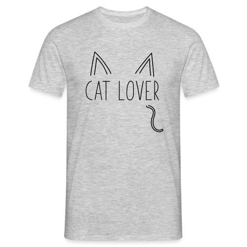 Cat Lover - Maglietta da uomo