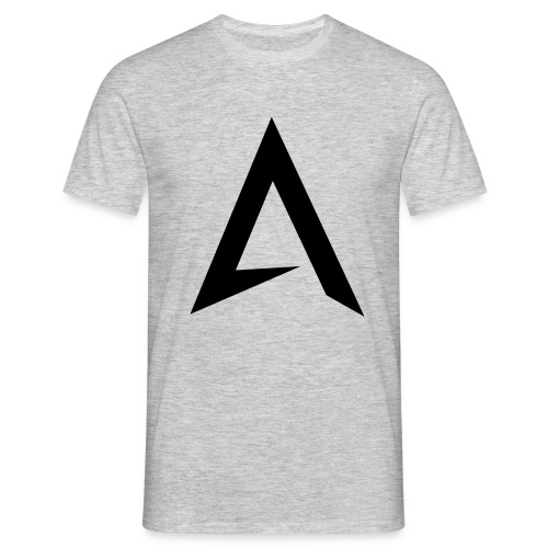 alpharock A logo - Men's T-Shirt